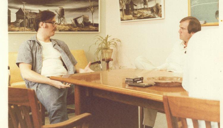 Ed Kemper e John Douglas. Foto: John Douglas.