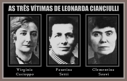 Leonarda Cianciulli - A Saponificadora de Correggio - Vitimas