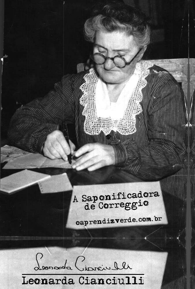 Leonarda Cianiuclli - A Saponificadora de Correggio - Capa
