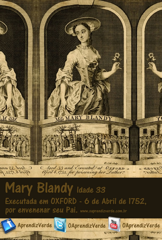 Mary Blandy - A assassina do pó do amor - Capa
