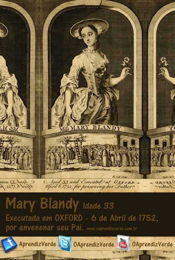 Mary Blandy - A assassina do pó do amor - Capa