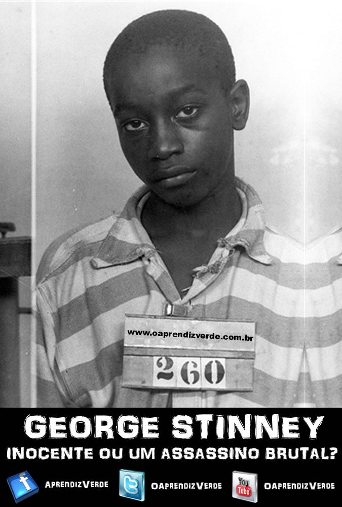 George Stinney - Inocente ou um Assassino Brutal - Capa