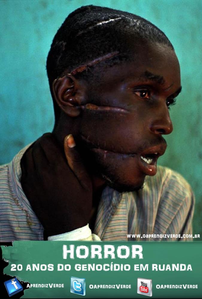 Horror - 20 Anos do Genocidio em Ruanda - Capa