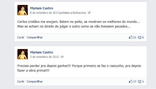 Seria Myriam - Uma psicopata- Capa - Facebook