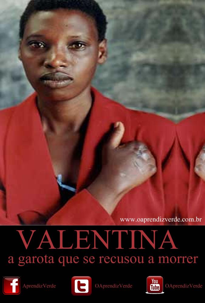 Valentina - a garota que se recusou e morrer - Capa