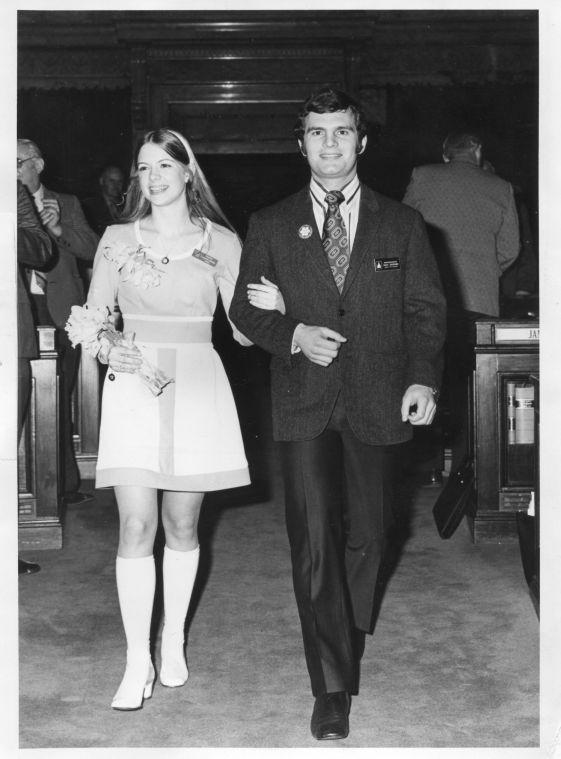 Seu Nome é Georgann Hawkins e ela foi morta por um monstro - High School - 1973