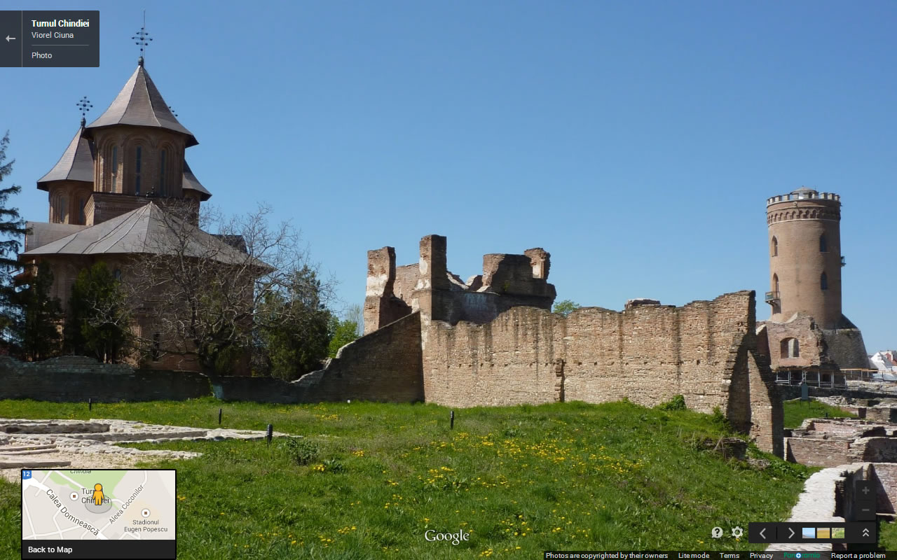 A Verddeira Historia de Dracula - Torre Chindia - Vista interna