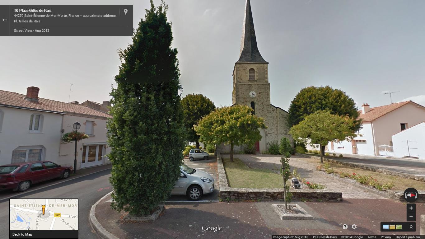 Serial Killers - Gilles de Rais - Igreja de Saint-Étienne-de-Mer-Morte.