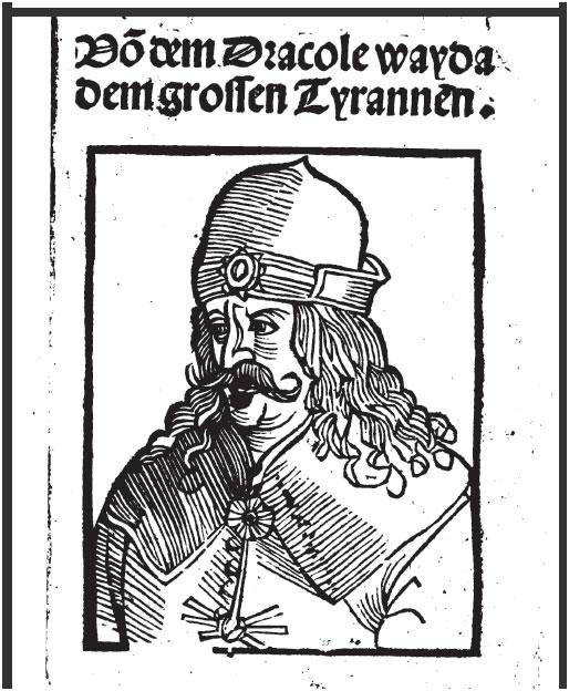 A Verdadeira História de Drácula - Panfleto