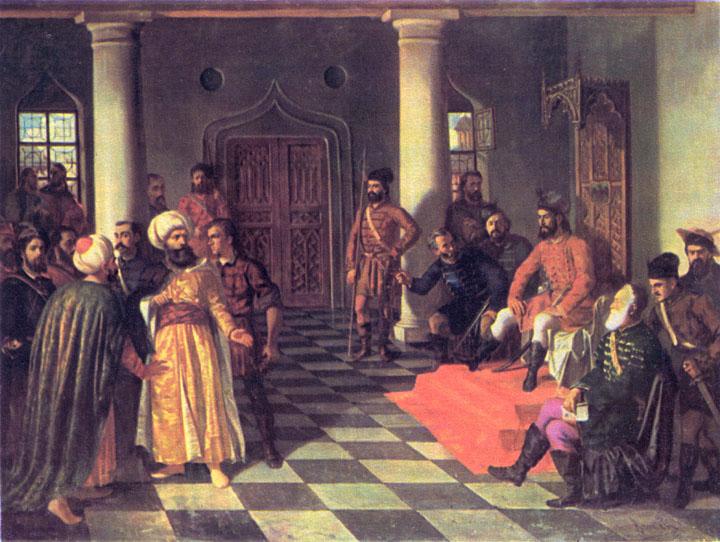 A Verdadeira História de Drácula - Os enviados turcos