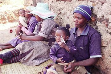 Suazilandia - Mpendulo Msibi - família