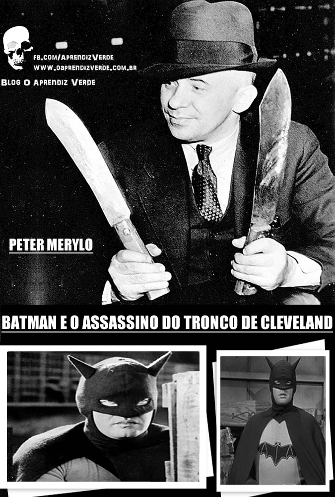 Batman e o Assassino do Tronco de Cleveland - Capa