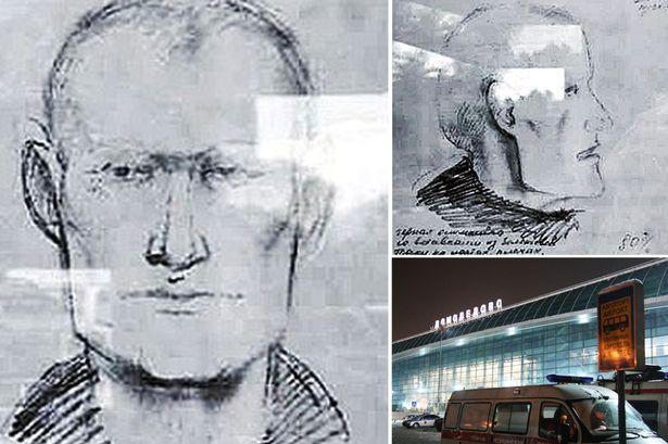 Na foto: Retrato falado do suposto serial killer de motoristas divulgado pela polícia russa no último sábado. Créditos: CEN.