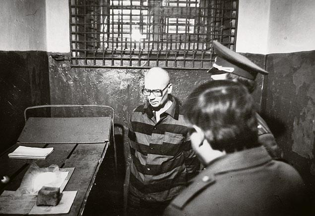 Andrei Chikatilo na prisão
