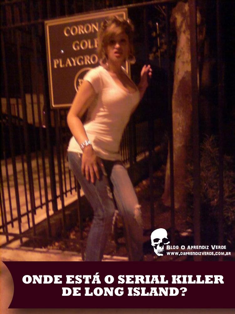 Onde Está o Serial Killer de Long Island - Capa