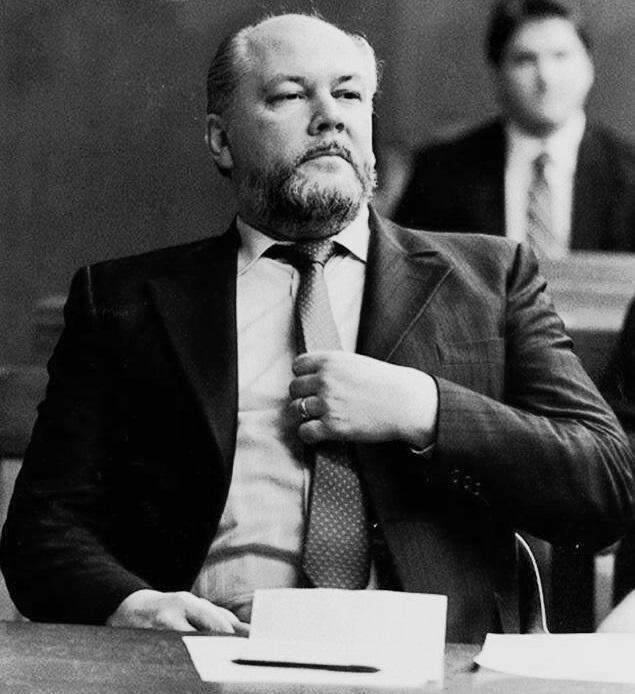 Na foto: Richard Kuklinski durante seu julgamento. Reprodução Internet.
