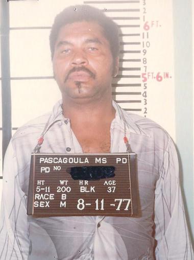 Na foto: Samuel Little, também conhecido como Sam McDowell, foi primeiramente preso em Pascagoula, em 1977. Créditos: Pascagoula Police Department