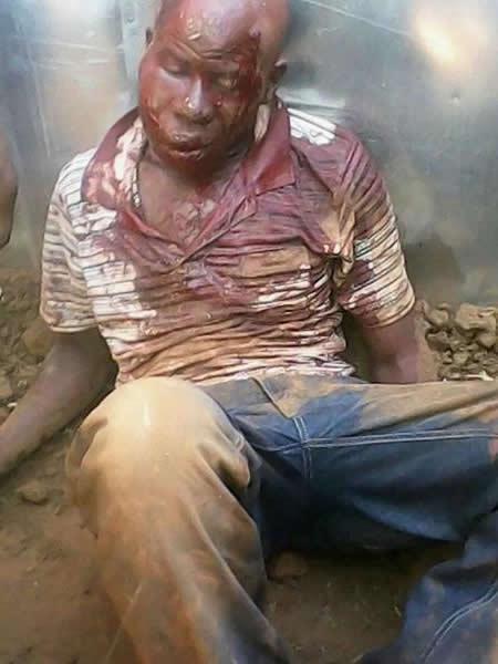 Suposto Serial killer atacado em Mamelodi - Africa do Sul - 2
