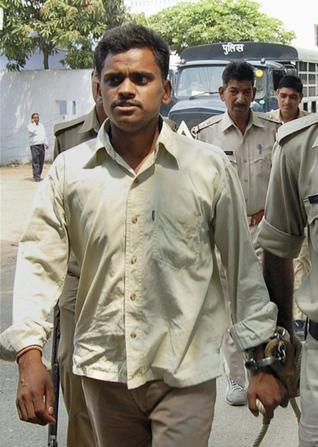 Na foto: O serial killer Surinder Koli. Foto: AFP.