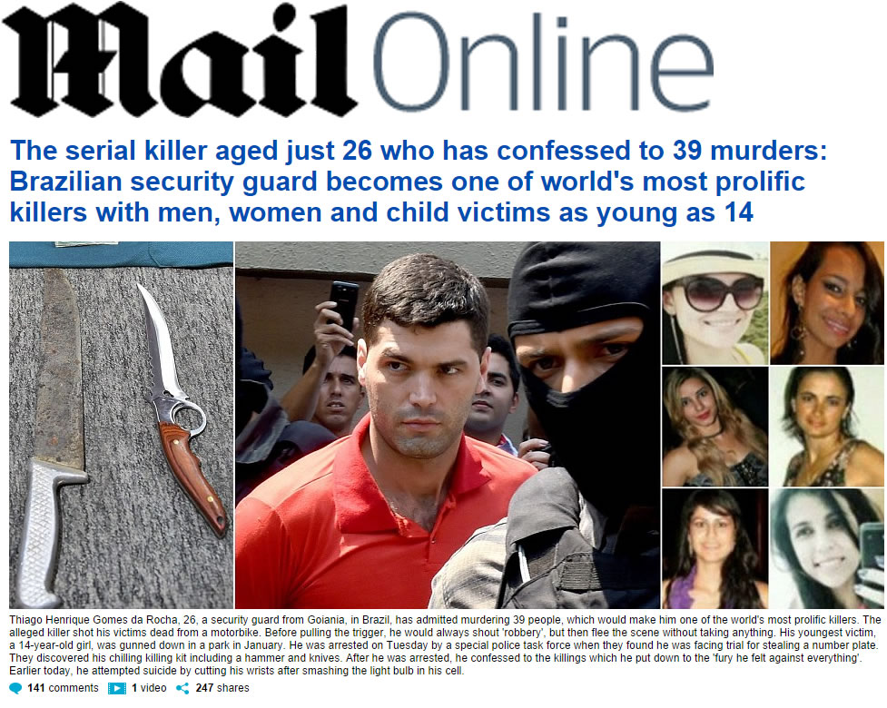 erial Killer em Goiania - Mail