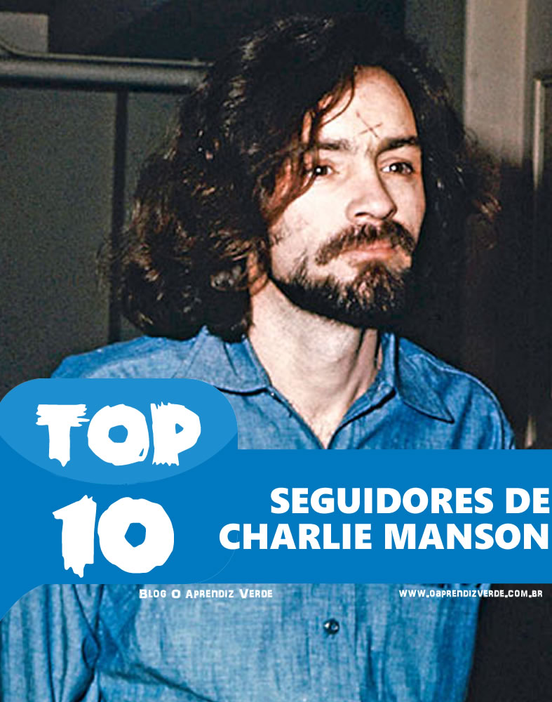 Top 10 Seguidores de Charles Manson - CapaTop 10 Seguidores de Charles Manson - Capa