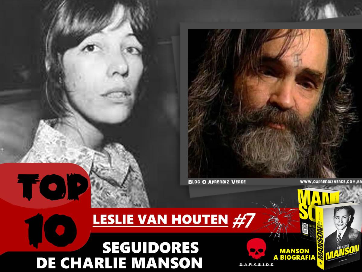 Top 10 Seguidores de Charles Manson - Leslie Van Houten