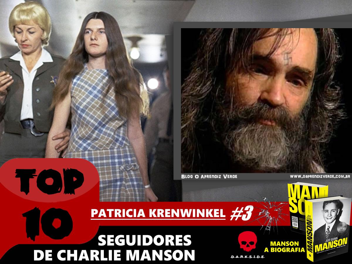 Top 10 Seguidores de Charles Manson - Patricia Krenwinkel