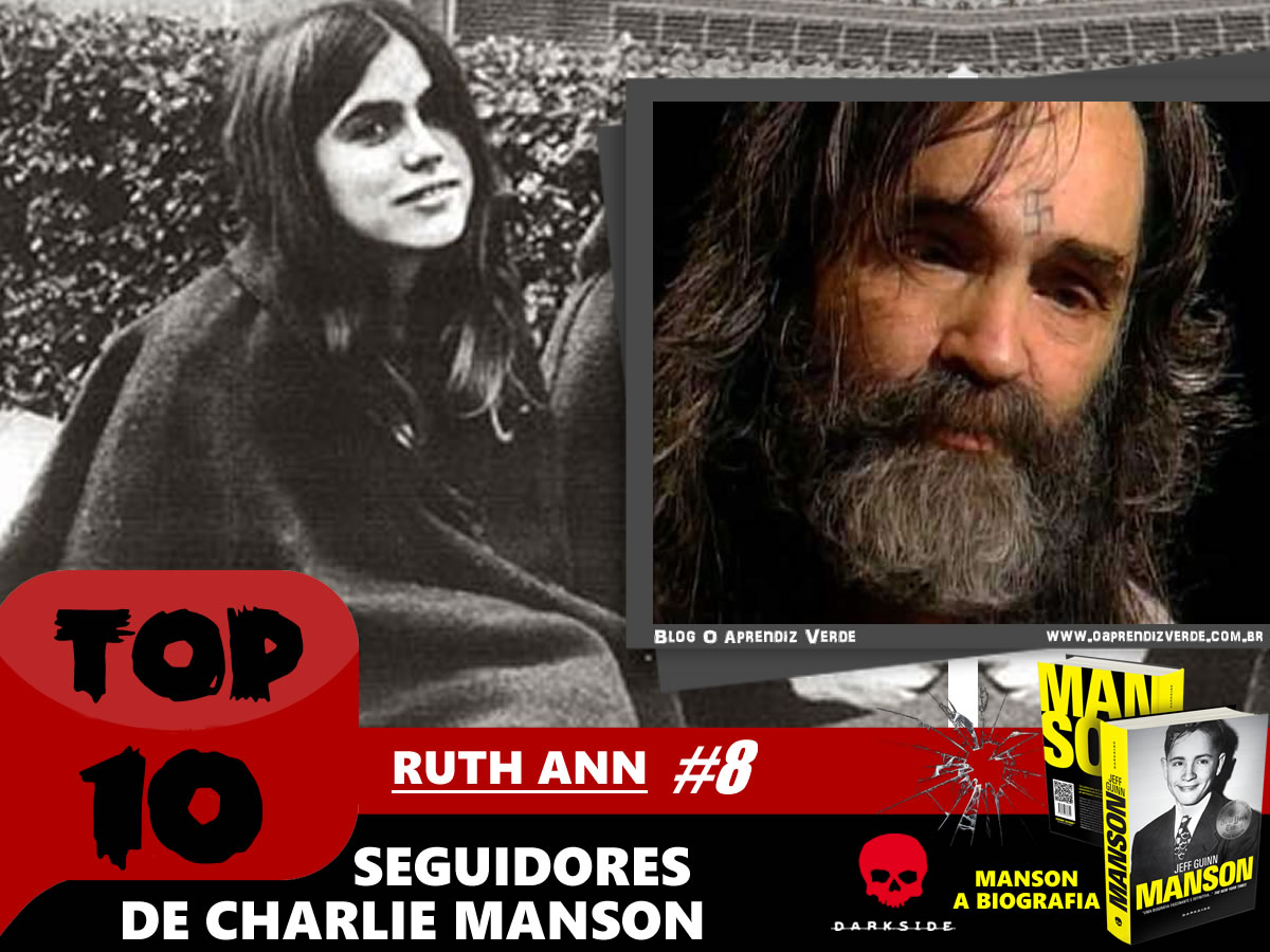 Top 10 Seguidores de Charles Manson - Ruth Ann Moorehouse