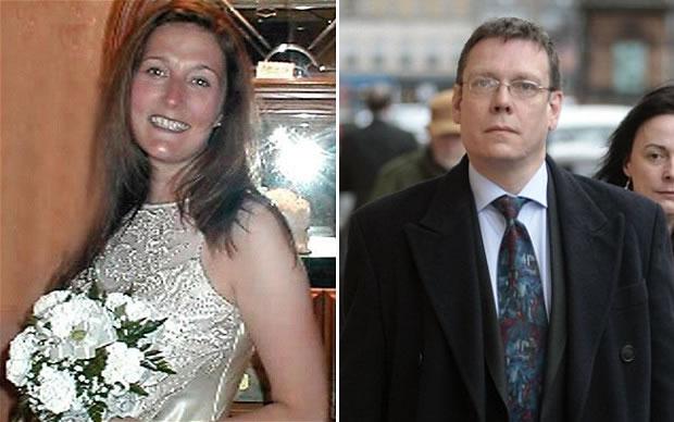 Na foto: Suzanne Pilley e David Gilroy. Suzanne desapareceu em maio de 2010. Reprodução Internet