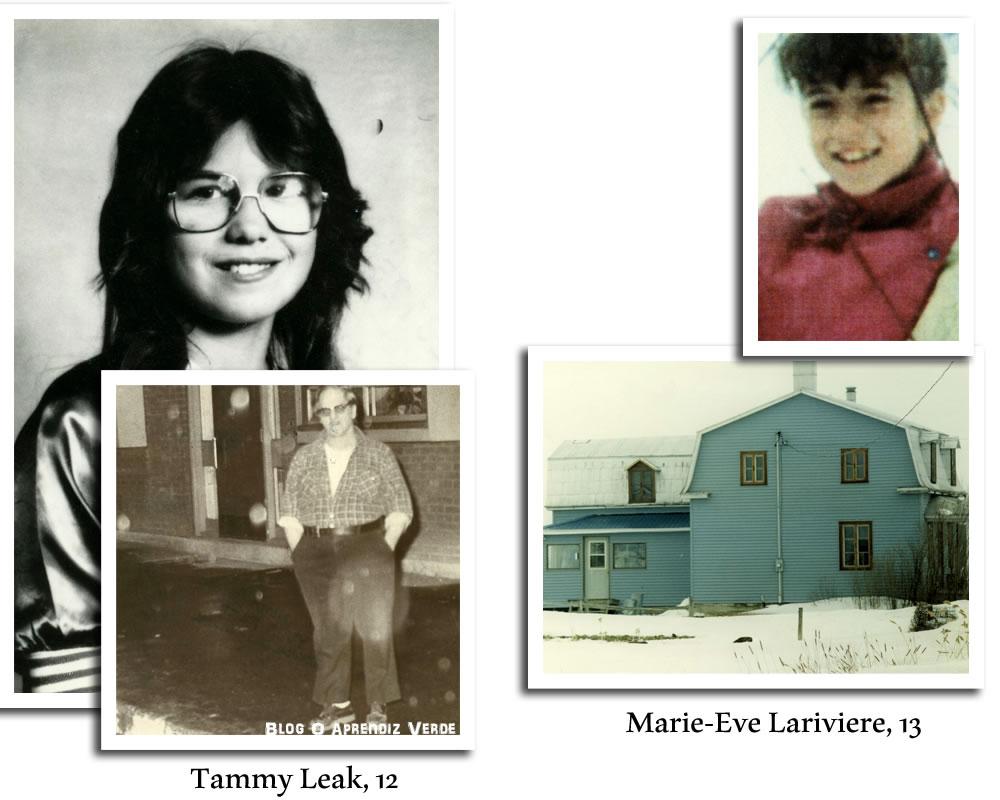 Na foto: Tammy Leak e Marie-Eve Lariviere.
