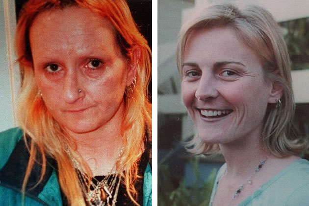 À esquerda Margaret Maher. À direita Nicole Patterson. Créditos: Herald Sun.