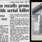 Reportagem Retro - Jeffrey Dahmer e Bridget Geiger - Destacada