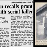 Reportagem Retrô: Mulher lembra baile de formatura com serial killer