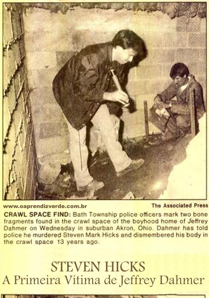Steven Hicks - A Primeira Vitima de Jeffrey Dahmer