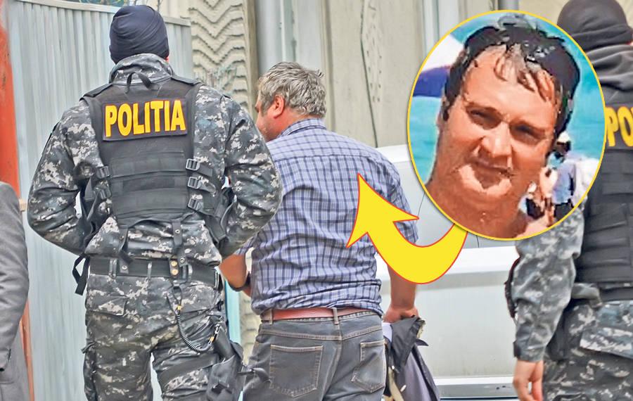 Na foto: Após anos impune, canibal romeno Vasile Lavric é preso em conexão com a morte de três mulheres. Créditos: Libertatea.