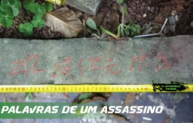 101 Crimes Horripilantes de 2014 - A morte do Sr. Zhu - Capa