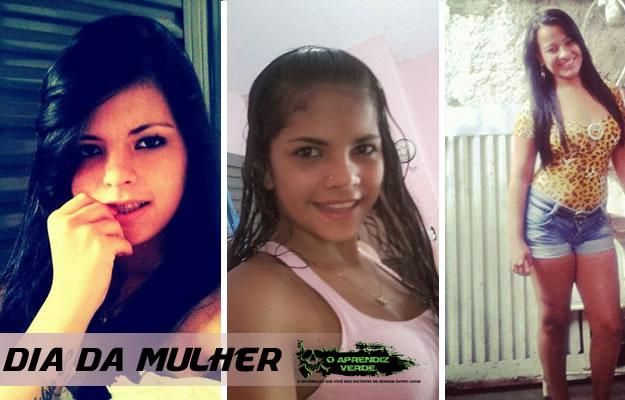 Rayane Kellry Silva, 15, Mylleide Morgana, 19, e Sinara Monteiro da Costa, 16. Foto: Reprodução Internet.