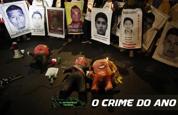 101 Crimes Horripilantes de 2014 - Estudantes desaparecidos no México