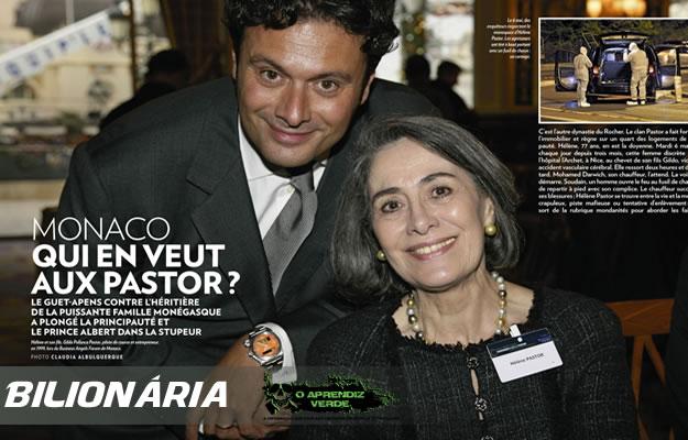 Gildo e Hélène Pastor. Foto: DR/PARIS MATCH.