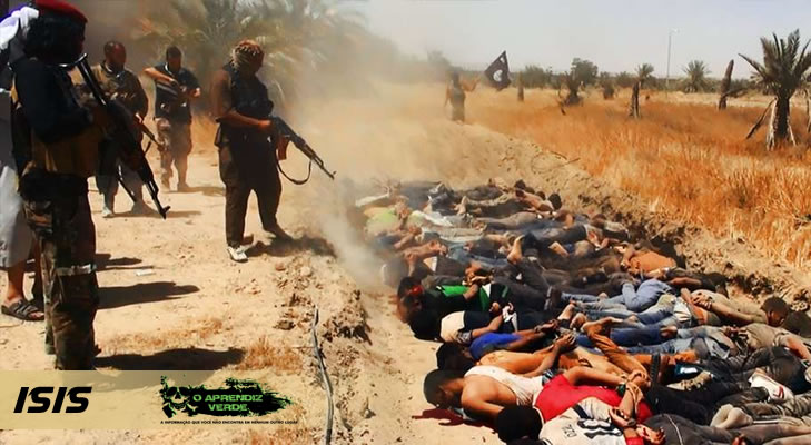 101 Crimes Horripilantes de 2014 - Isis