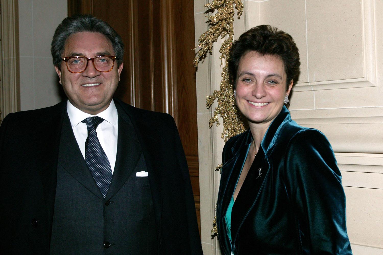 Wojciech Janowski e Sylvia Pastor. Casados a 28 anos, o casal tem uma filha adolescente. Data: 2003. Foto: ENTAURO/French Select/Getty Images.