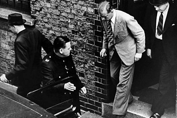 O serial killer Neville Heath, cerca de um mês antes de sua execução. Foto: Popperfoto/Getty Images