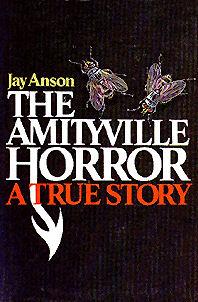 """Capa do livro """"Amityville Horror"""", de Jay Anson."""