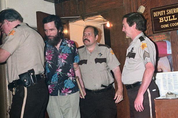 Gary Heidnik fotografado no primeiro dia de seu julgamento. Foto: Foto: © Bettmann/CORBIS.