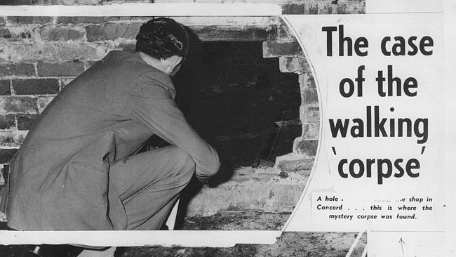 """Publicação do Daily Mirror sobre """"O caso do cadáver que andava"""". Foto: Daily Telegraph."""