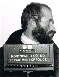 Hadden Clark, fichado pela polícia em 1988. Reprodução Internet.
