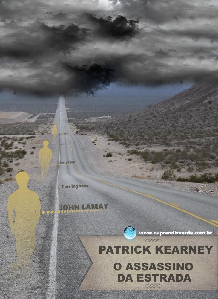 Patrick Kearney - O Assassino da Estrada - Capa