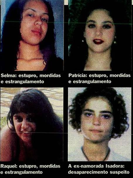 Vítimas do Maníaco do Parque. Foto: Revista Veja.