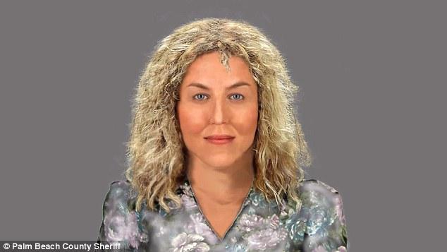 Quem é esta mulher? Polícia de South Florida publicou a reconstituição em 3D acima mostrando o que acredita-se ser a sexta vítima de Jesperson.