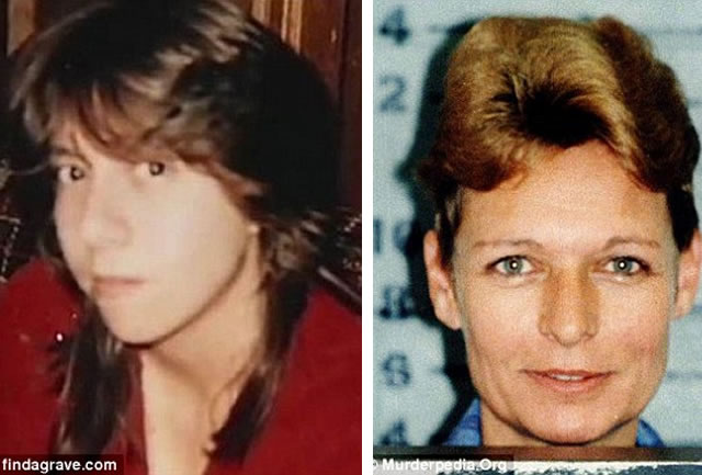 As vítimas Taunja Bennet, 23, morta em Janeiro de 1990, e Julia Ann Winningham, 41, namorada de longa data do serial killer.